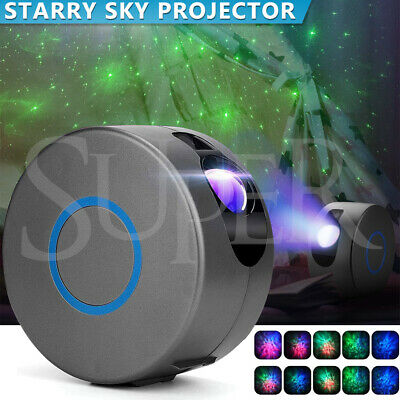 AU59.99 • Buy 3D LED Galaxy Projector Starry Sky Star Nebula Night Light Lamp Party Baby Room