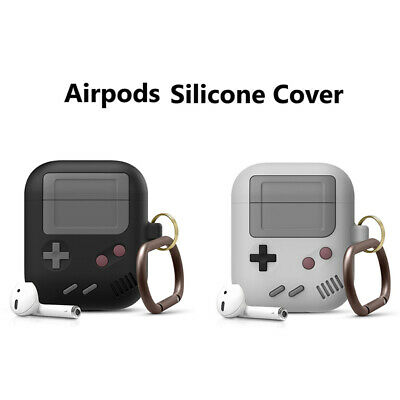 $ CDN5.35 • Buy Silicone Cover Case For AirPods 1/2 Pro Case Cover Classic Game Player Design I-