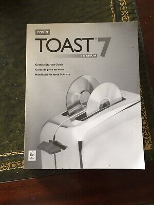 £1.10 • Buy Roxio Toast 7 Titanium Software Getting Started Manual