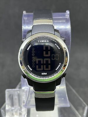 $ CDN1.20 • Buy Timex Tw5m29300 Women's Black Silver Digital Watch #36