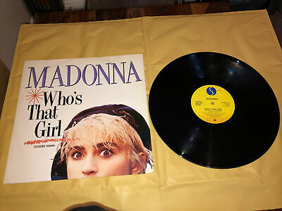"£4.50 • Buy Madonna - Who's That Girl - 12"" 1987 Vgc/vgc+"