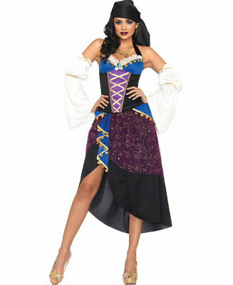 $ CDN63.47 • Buy Tarot Card Gypsy Adult Halloween Costume - Leg Avenue 83941