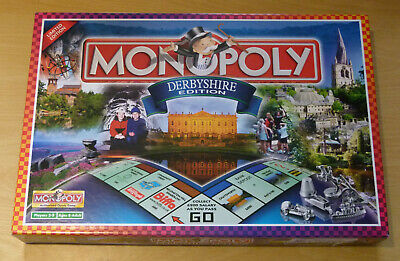 £22.99 • Buy Limited Edition Monopoly Derbyshire : 100% Complete : Classic Family Game