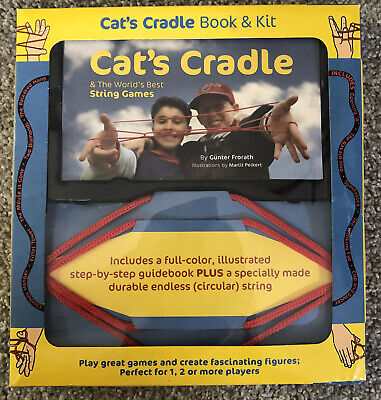 £17.88 • Buy Cats Cradle Book And KIT String Box Set