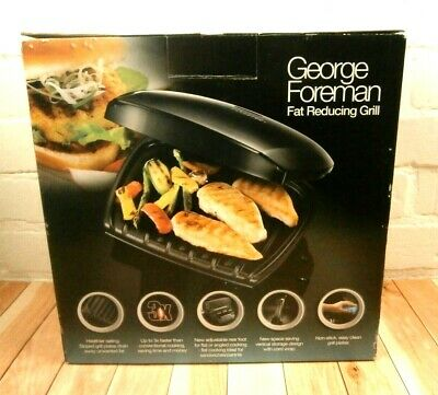 £35.95 • Buy George Foreman Family 5 Portion Grill - Black, Easy Clean Non Stick Plates. New