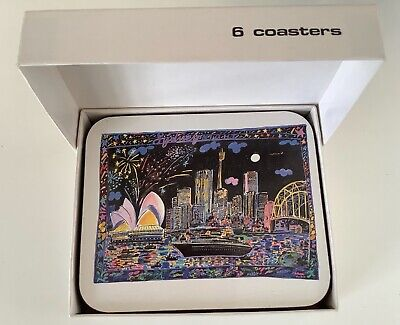 £12 • Buy Ken Done Sydney Night Coasters Designed Exclusively For Jason