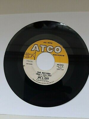 £15 • Buy Ben E King The Record / The Way You Shake It ATCO  VG++
