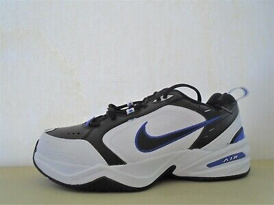 AU13.52 • Buy New Nike Air Monarch White Black Blue  Running Shoes Sz 10 4E X Wide Clearance