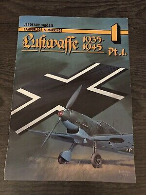 £4.99 • Buy Camouflage And Markings: Luftwaffe 1935-1945 Part 1 By Jaroslaw Wrobel