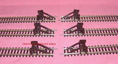 £15 • Buy Six New Hornby 'oo' R.083 Model Railway Buffer Stop  Clip On To All Hornby Track