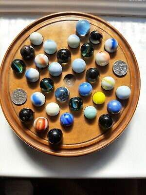 £29 • Buy Old Solitaire Game And 32 Marbles