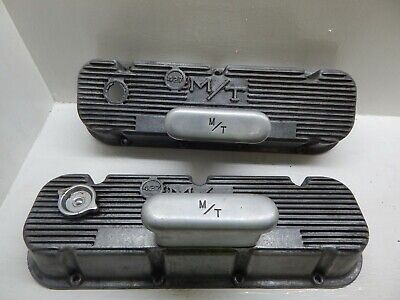 $699 • Buy Mickey Thompson Valve Covers Bbc 427 M/t Breathers Chevy 396 427 454