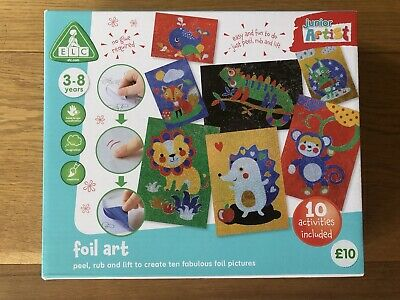 £4.99 • Buy Early Learning Centre ELC Foil Art Craft Set NEW Scratch Art