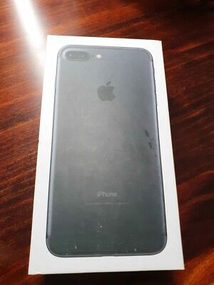 AU220 • Buy IPhone 7 Plus Black 256gb With Box - Home Button Not Working *read Description*