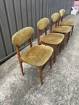 AU160 • Buy Retro Mid Century Vintage Chairs X 4