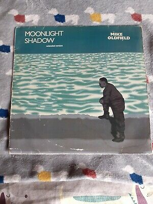£6.99 • Buy Mike Oldfield 12  Vinyl Single - Moonlight Shadow