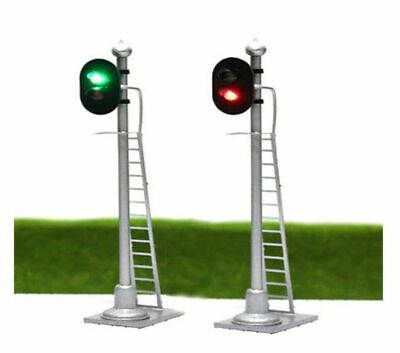 £8.75 • Buy 00 Model Railway Red Green 2 Aspect Light Signal 12 VOLT DC OO GAUGE Pre Wired