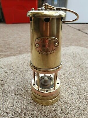 £41.99 • Buy Vintage Miners Lamp, Made By The Lamp & Limelight Company Hockley