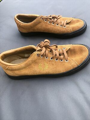 £13.99 • Buy Fred Perry Brown Suede Octoberfest Shoes Uk 6