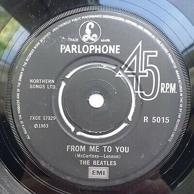 £5.99 • Buy RARE Beatles  From Me To You  1982 Southall Pressing Pushout Centre