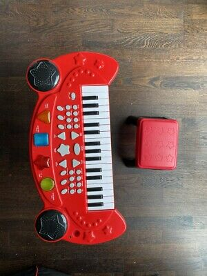 £12 • Buy Chad Valley Keyboard & Stool Red And Black
