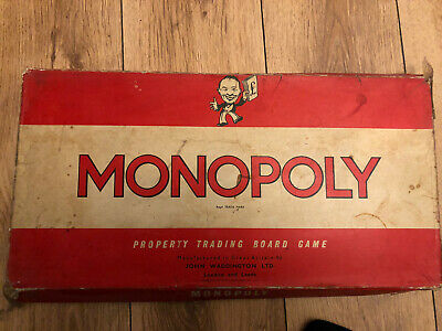 £20 • Buy Original 1961 Old Monopoly Board Game All Cards And Pieces!