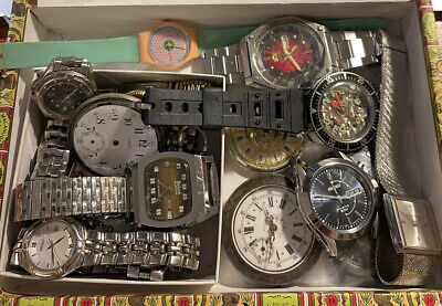 $ CDN60.50 • Buy Vintage Watchmaker's Estate Lot 1 - Untested - For Parts Or Repair