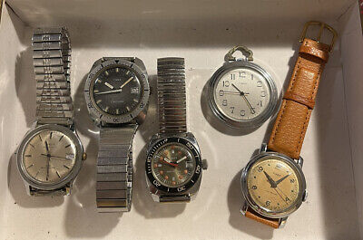 $ CDN60.50 • Buy Vintage US Time / Timex Mechanical Watch Lot - Untested - For Parts Or Repair
