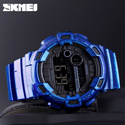 $ CDN15.48 • Buy Skmei Fashion Sport Watch Men Military Watches Waterproof Digital Watch 1243 30