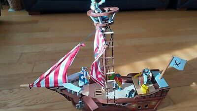 £10 • Buy Early Learning Centre Wooden Pirate Ship