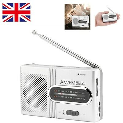 £8.88 • Buy AM/FM Mini Pocket Radio Stereo Built-in Speakers Receiver Music Player Portable