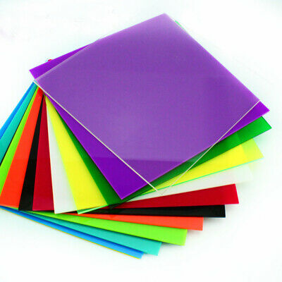 £2.75 • Buy Tinted Colour Perspex Acrylic Plastic Sheet Cut To Size Window Transparent Glass