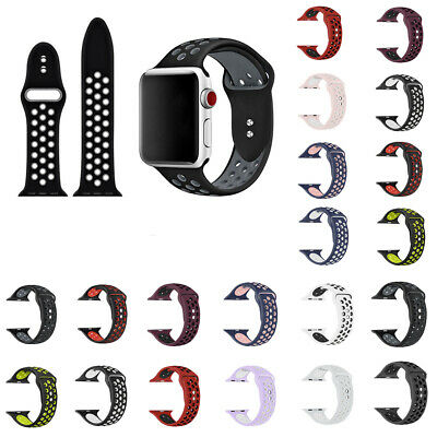 $ CDN9.55 • Buy Silicone Sport Band 38mm 42mm Replacement For Apple Watch Series 1 2 3 4 HOT