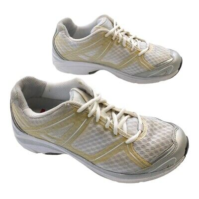 $ CDN31.45 • Buy Ecco Womens Athletic Shoes White Beige Low Top Lace Up Sneakers 8-8.5M EUR 39