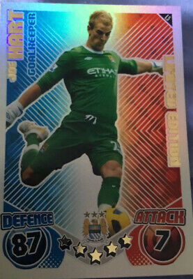 £20 • Buy Match Attax Extra 2010/11 L5 Joe Hart Limited Edition Card Mint RARE