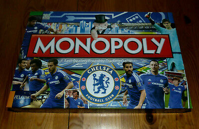 £19.99 • Buy Football Themed MONOPOLY Board Game Chelsea Football Club 2015 Ed Part Sealed