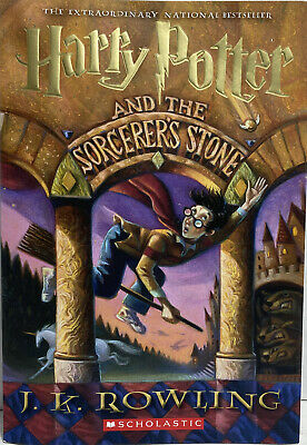 $ CDN12.09 • Buy Harry Potter And The Sorcerer's Stone By J. K. Rowling (1999, Paperback Book New
