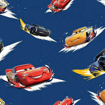 £7.32 • Buy 1/2 Yard Cars Navy Sewing Quilting Cotton Fabric