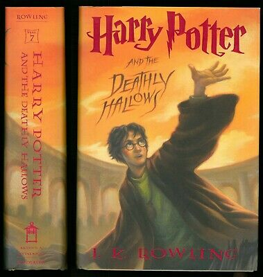 $ CDN22.38 • Buy Rowling HARRY POTTER AND THE DEATHLY HALLOWS, 1st Ed. True 1st Print, HCDJ EUC