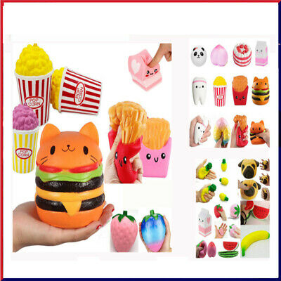 AU10.59 • Buy Jumbo Slow Rising Scented Squishys Squeeze Toy Stress Reliever Toy Kid Gift