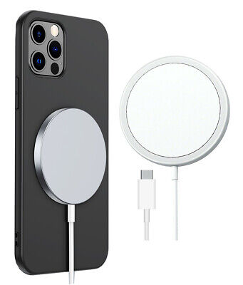 AU23.99 • Buy Magnetic Wireless Fast Charger Pad 15W IPhone 13 12 Pro Max MagSafe Compatible