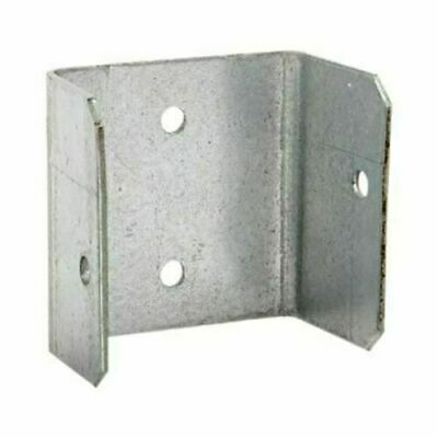 £6.99 • Buy Fence Panel Clips 40mm 46mm 52mm Galvanised Brackets Fencing Post