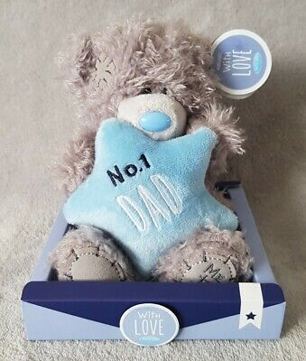 £8.95 • Buy NEW ME TO YOU No1 DAD PLUSH TATTY TEDDY BEAR FATHERS DAY GIFT BEAR
