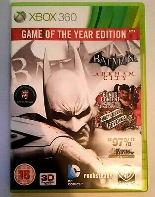£5.25 • Buy Batman: Arkham City Game Of The Year Edition Xbox 360 (2 Disc)