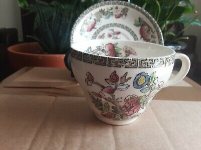 £3.99 • Buy Vintage Johnson Bros Indian Tree Ironstone Cup And Saucer