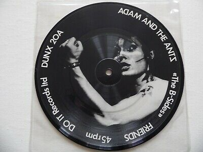 £14 • Buy Adam & The Ants - The B Sides 7  Vinyl Record Picture Dusc