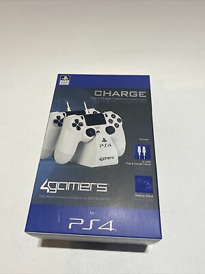 AU15 • Buy PS4 Dual Controller Charger Charging Dock Station Stand Officially Licenced BNIB