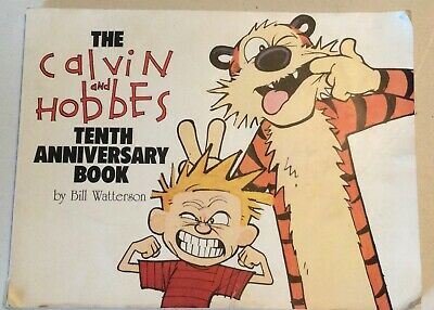 £3.25 • Buy The Calvin And Hobbes Tenth Anniversary Book By William Watterson