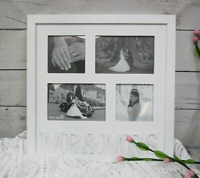 £6.99 • Buy Mr & Mrs Photo Picture Frame , Wedding , Gift.
