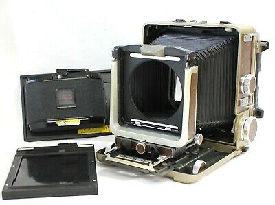 £290.46 • Buy Wista 45 45D 4x5 Large Format Camera With Roll Film & Cut Film Back Holder